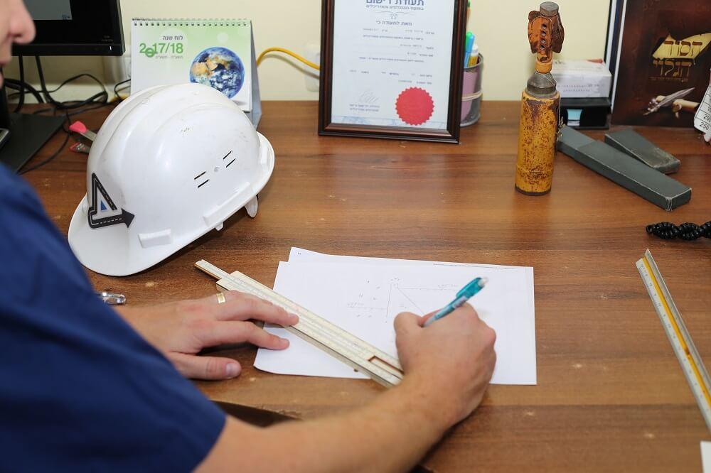 בקרת איכות של פרויקט הבניה בתחום התשתיות